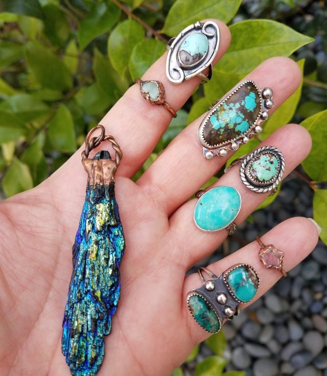 Rings and Things by Peacock Gypsies