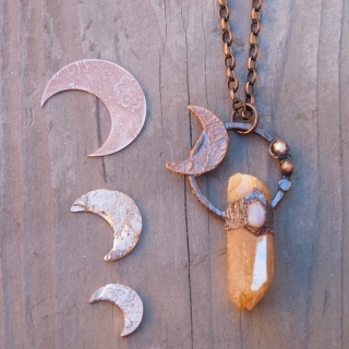 Sun and Moon Goddess Pendant 1