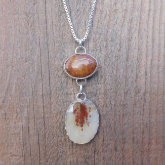 Dendretic Agate Pendant