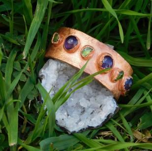 amethyst-peridot-cuff