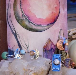 Bohemian Rings Boho Jewelry by Peacock Gypsies